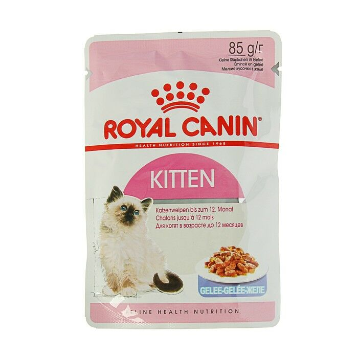 Роял канин д/ котят Royal Canin Kitten в желе 85гр